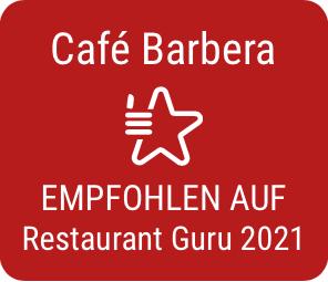 Café Barbera empfohlen auf Restaurant Guru 2021